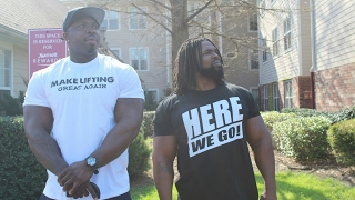 GAINZ TO GAMES 2 | HOUSTON TEXAS MO CITY GYM | BIG ROB & BIG HURK)