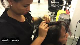 Showcasing Talent: Albaso Hairstyle