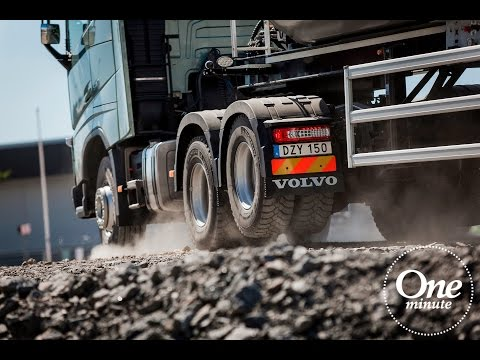 Volvo Trucks - One Minute about Tandem Axle Lift