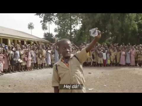 Yaya, fadderbarn i Guinea - Plan International