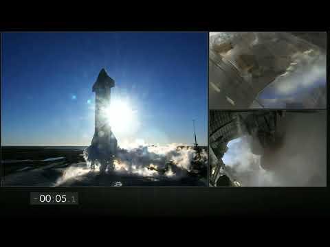 SpaceX alza con éxito su Starship, pero la nave acaba explotando al aterrizar