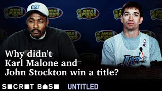 Karl Malone and John Stockton never won an NBA championship. Here's what left them empty-handed.