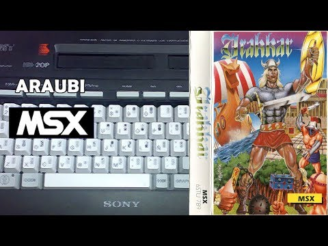 Drakkar (Diabolic, 1989) MSX [612] Walkthrough