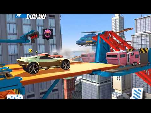 HOT WHEELS RACE OFF -  Supercharged Up Nerve Hammer / Supercharged Bullet Proof Gameplay