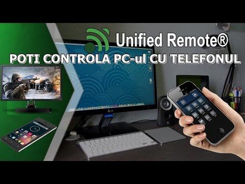 CUM POTI CONTROLA PC ul CU TELEFONUL