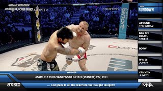 MMA Highlights From Around the Globe feat: KSW, Tachi Palace Fights, Hard Knock MMA, and More!