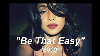 "Sade ""Be That Easy"" w-Lyrics"