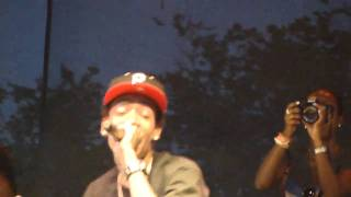 Wiz Khalifa Still Blazin' Live@ Rock The Bells 2010