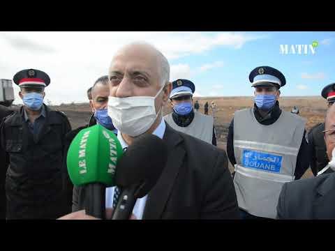 Video : Destruction à Casablanca d'une quantité de drogue et de produits de contrebande