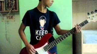 Pink Floyd - Another brick in the wall - Bass cover - JGFO