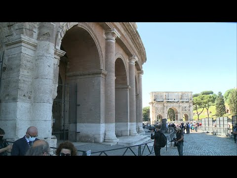 Rome's Colosseum reopens to visitors after months-long closure | AFP
