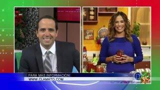 Karla Martínez nos habla de increíbles recetas para estas Fiestas