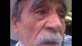 El cazador novato en el funeral de Gerardo brito