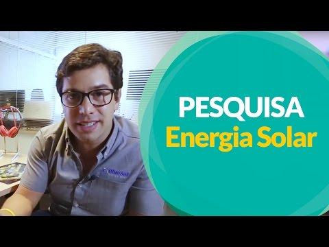 PESQUISA IMPORTANTE - Energia Solar