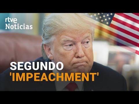 TRUMP acusado de «INCITACIÓN A LA INSURRECCIÓN» en EE. UU., en un SEGUNDO IMPEACHMENT | RTVE