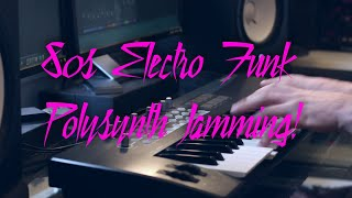 80s Electro Funk Polysynth Jamming - Mike Pensini