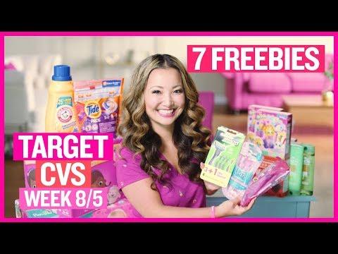 ★ 7 FREEBIES - Target & CVS Coupon DEALS (Week 8/5 – 8/11)