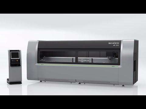 Schüco Maschine AF 310 - CNC-Bearbeitung