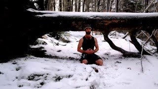 Wim Hof method breathing + push-ups