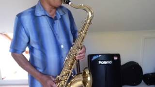 My First,Last, My Everything /Barry White/Cover On Selmer Mk 6,1957 Tenor Sax.Mouthpiece used is Ot