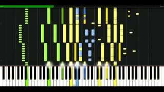 Moby - Lift me up [Piano Tutorial] Synthesia | passkeypiano