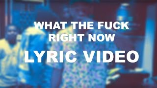 WHAT THE FUCK RIGHT NOW - Tyler The Creator   LYRIC VIDEO