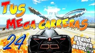 """GTA V TUS MEGACARRERAS 24 """" Smash Bash BOOM """" OdDd Thing Ps4 GTA 5 online"""