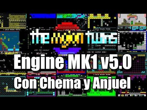Mojon Twins Engine MK1 v5.0 Con Chema y Anjuel