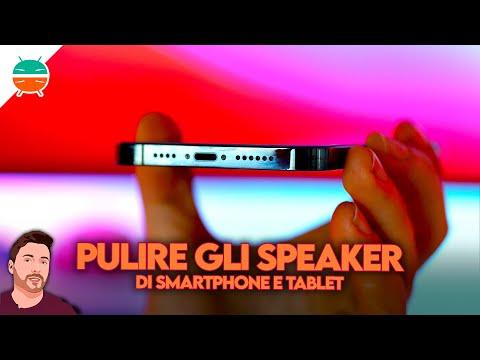 Come PULIRE gli speaker di smartphone e  …