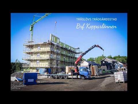 Brf Kopparlönnen - 6 våningar restes på 5 dagar!