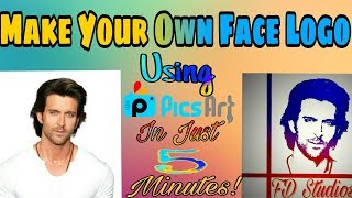 Make Professional Face Logo  | Picsart Editing Tutorial 2017