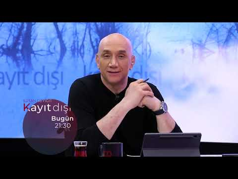 Ertan Özyiğit ile Kayıt Dışı bu akşam 21:30'da tv100'de.