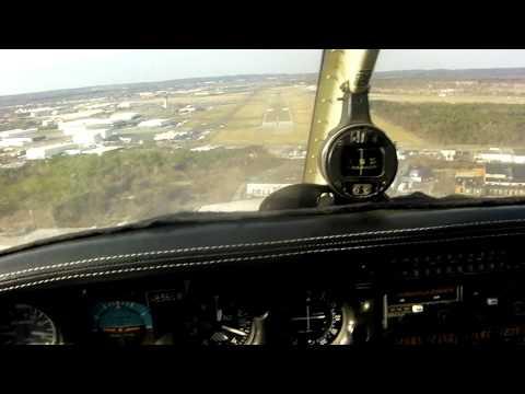 N8360W landing rnw 1 at Republic.MP4