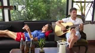 Scracho The Lazy Song - 10/01/2012 Acesso MTV   Cover