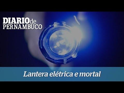 Lanterna el�trica e mortal est� sendo vendida no Recife