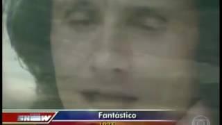 Roberto Carlos no programa fantástico 1976 videoclipe (Além do Horizonte)