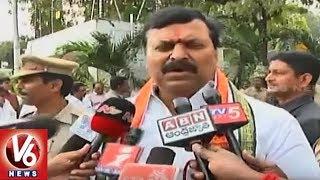 Ponguleti Sudhakar Reddy Attends To KCR Oath Taking Ceremony At Raj Bhavan | V6 News