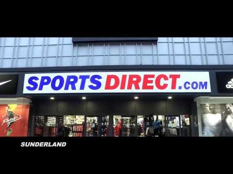 sportsdirect.com & Sports Direct Promo Code video: SportsDirect New Sunderland Store