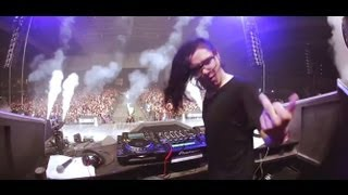Skrillex in Mexico 2013 Live (Yellow Claw - Kaolo)