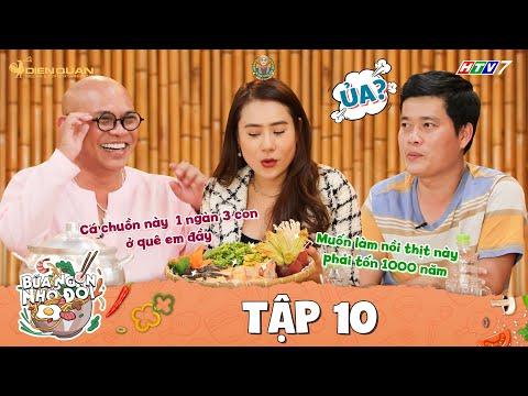 Bữa Ngon Nhớ Đời | Tập 10: Color Man, Khương Dừa hú hồn với màn bình luận 1-0-2 của Hồ Bích Trâm
