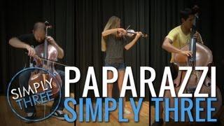 Paparazzi (Lady Gaga) - Simply Three cover