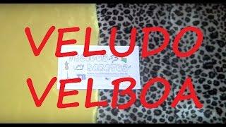 Tecido Veludo Velboa - Liso / Pele de Bichos