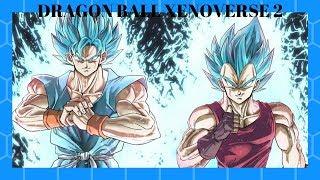 DRAGON BALL XENOVERSE 2 -   super saiyan blue Goku vs super saiyan blue Vegeta