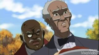 Run the Jewels- (rubble kings theme) boondocks edit