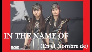 [Sub Español] In The Name Of - BABYMETAL live at Rock am Ring 2018