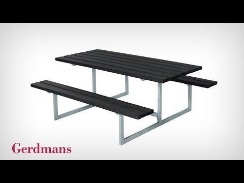 Bänkbord Halde | Monteringsinstruktion | Gerdmans