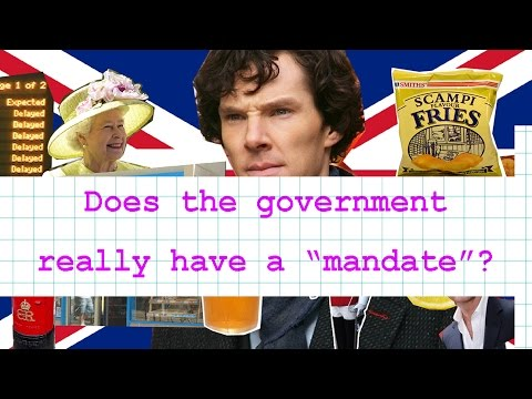 "Does the government really have a ""mandate""?"