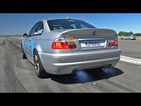 1045HP BMW M3 E46 with M50 Turbo Engine!