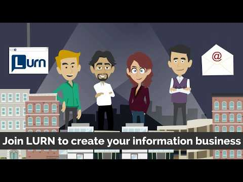 Welcome To Lurn - Turning Information Into Profit