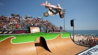 2012 Free Flow Tour Finals: Skate Vert Highlights feat. Zac Rose, Evan Doherty